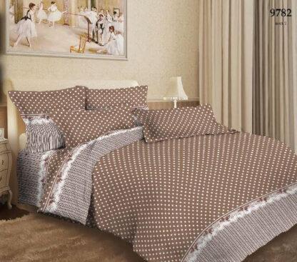 Комплект постельного белья коллекции «Золотая классика» арт. ТХБ9782-1 «Горох»