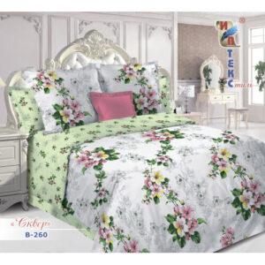 Купить постельное белье из поплина недорого
