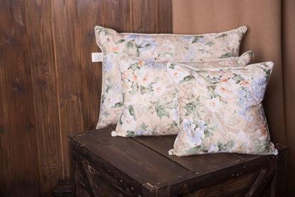 Подушка для сна перьевая 70х70 см