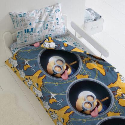 Комплект постельного белья детский Миньоны