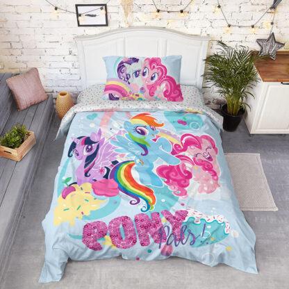 Комплект детского постельного белья из поплина