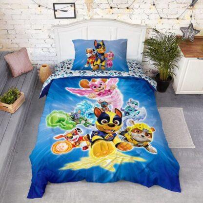 Комплект постельного белья детский Щенячий патруль